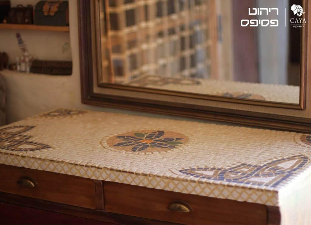 שולחן פסיפס מעוצב מבית CAYA