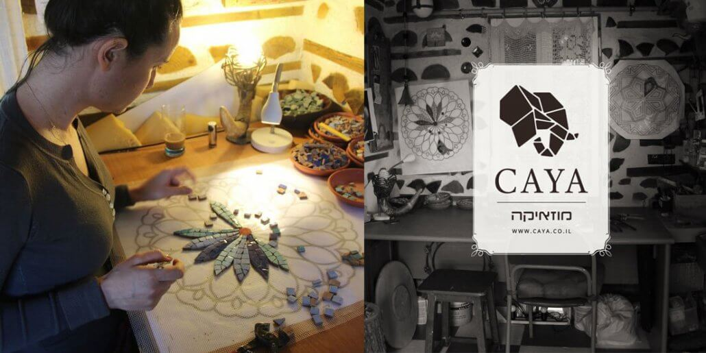 CAYA - Kitchen mosaic