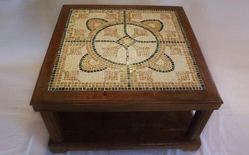 שולחן פסיפס מעוצב