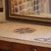 שולחן מוזאיקה מעוצב עם אבן טבעית